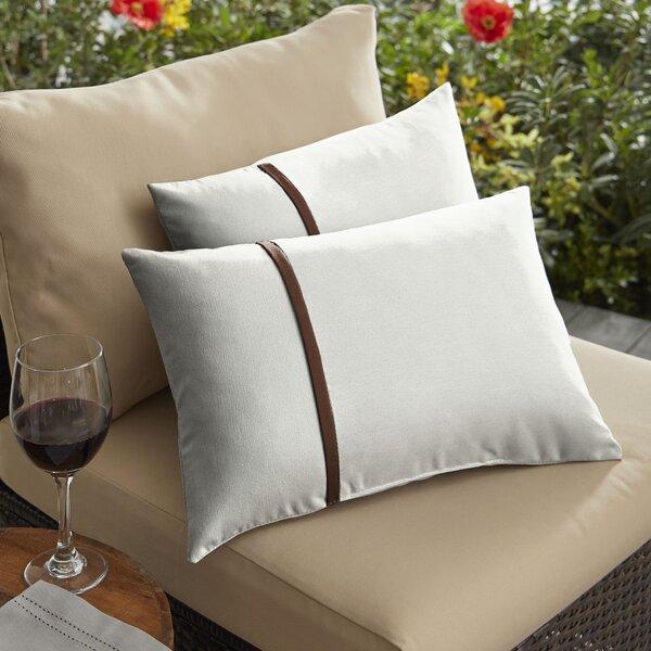 Fortson Indoor/Outdoor Lumbar Pillow (Set of 2)