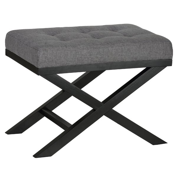 Marceline Tufted Ottoman by Andover Mills