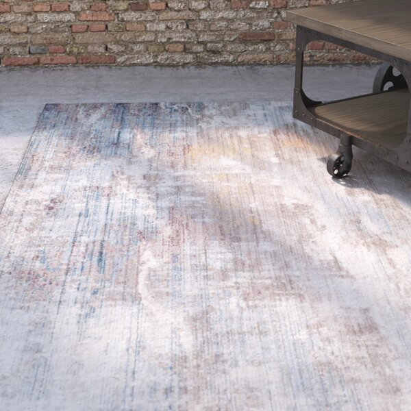 Foresta Abstract Blue Area Rug by Trent Austin Design