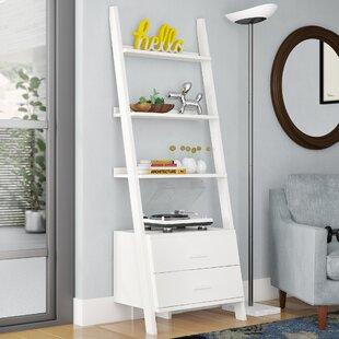 Online Reviews Antoninus Ladder Bookcase ByMercury Row