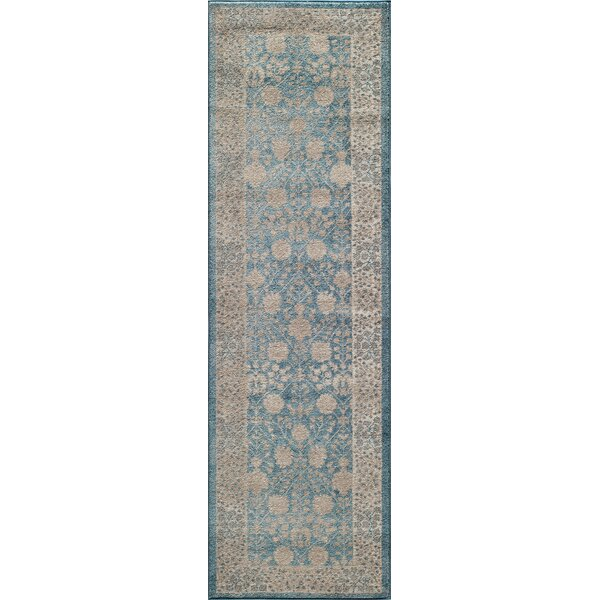 Scarlett Blue Area Rug by Bungalow Rose