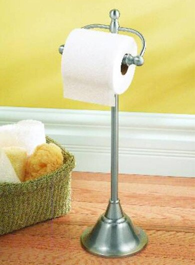 Sage Free Standing Toilet Paper Holder by Moen