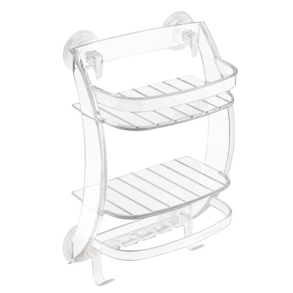 Power Lock Suction Shower Caddy by InterDesign