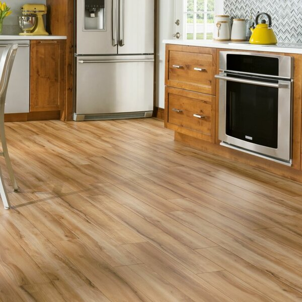 Luxe Rigid Core Groveland 6 x 48 x 7.88mm Maple WPC Luxury Vinyl Plank in Natural by Armstrong Flooring