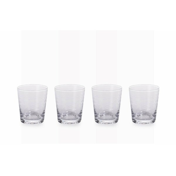 Amparo Fish Cut 12 oz. Cocktail Glass (Set of 4) by Highland Dunes
