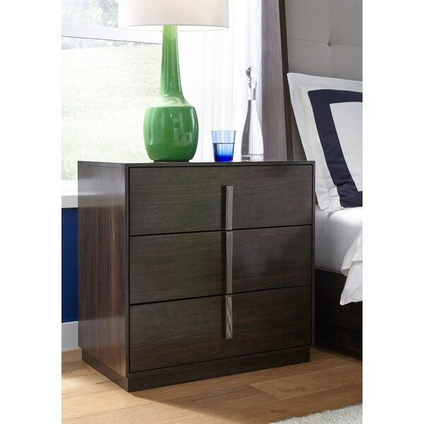 Sallie 3 Drawer Nightstand by Brayden Studio