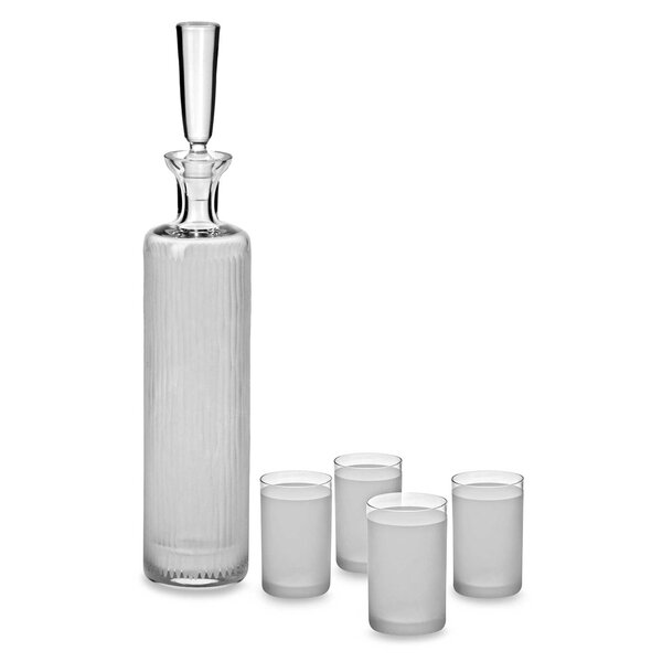 5 Piece Decanter Set by Ravenscroft Crystal