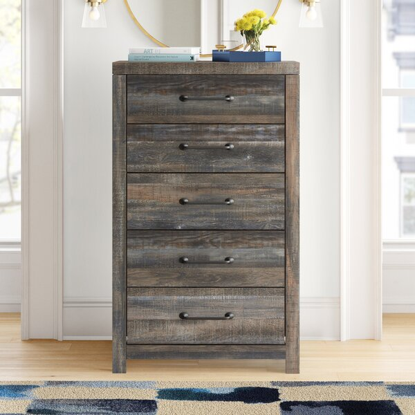 Cali 5 Drawer Chest by Foundstone