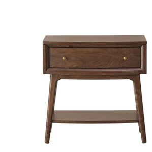 Fletcher 1 Drawers Nightstand by Brayden Studio