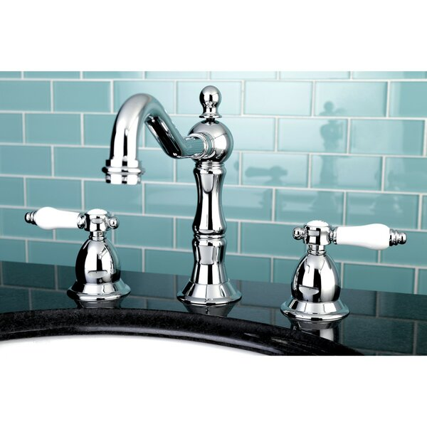 Bel Air Widespread Bathroom Faucet with Drain Assembly