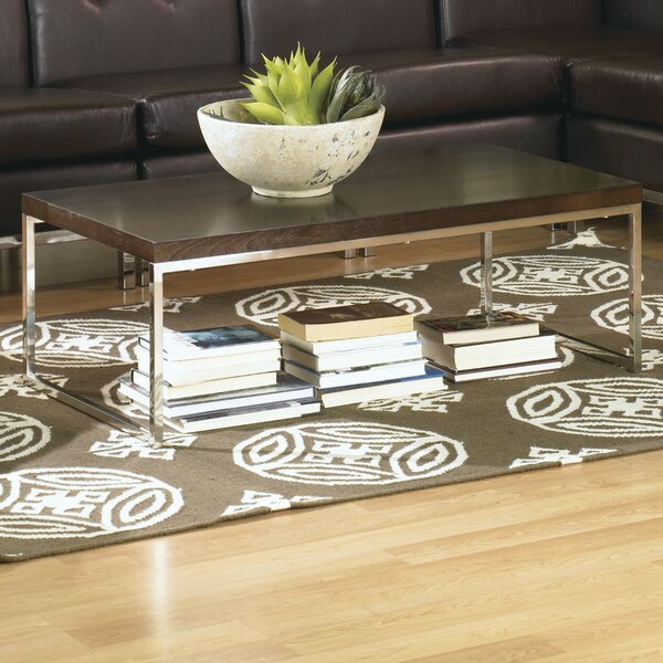 Mapleton Sled Coffee Table By Wade Logan