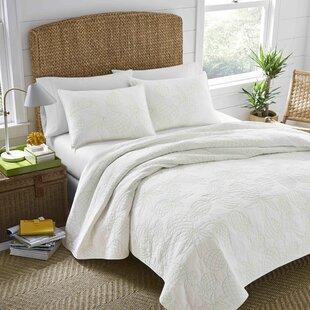 Palm Springs 100% Cotton Reversible Quilt Set