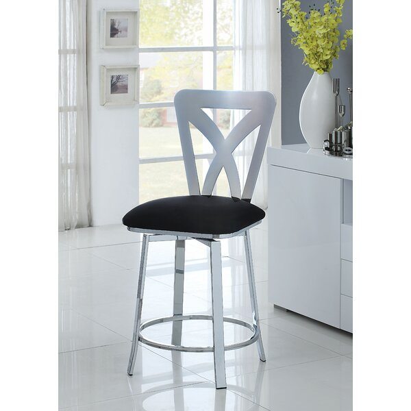 Fortenberry Swivel Bar Stool by Latitude Run