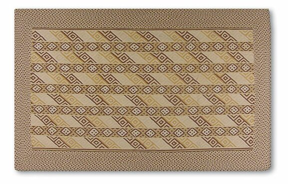 Griffith Hand-Woven Brown Area Rug by Threadbind