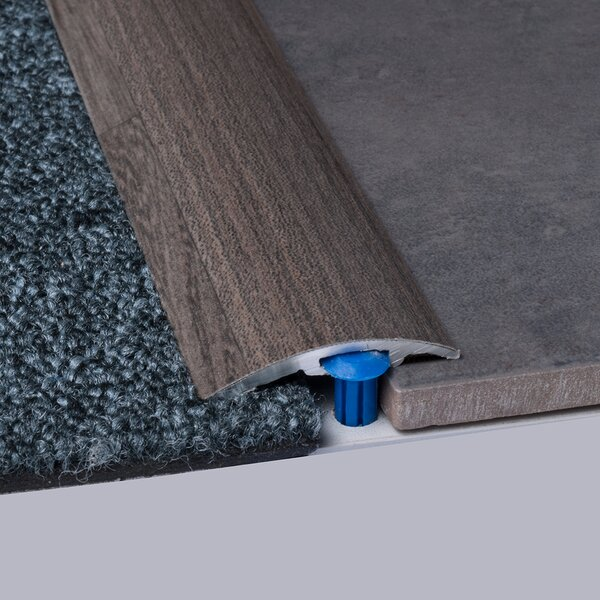 0.25 x 1.5 x 35.5 Carpet Reducer in Elm by ELESGO Floor USA
