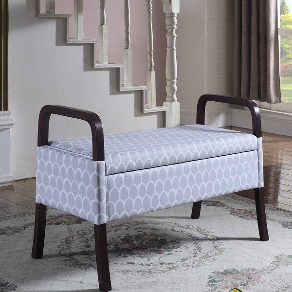 Lembert Upholstered Storage Bench by Latitude Run