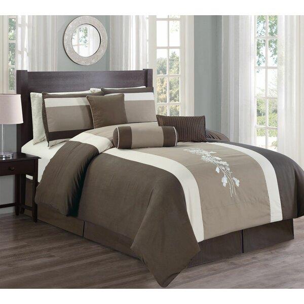 Westerfield 7 Piece Soft Comforter Set by Winston Porter