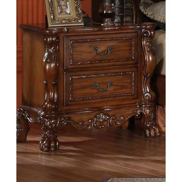 Serena 2 Drawer Nightstand by Astoria Grand Astoria Grand