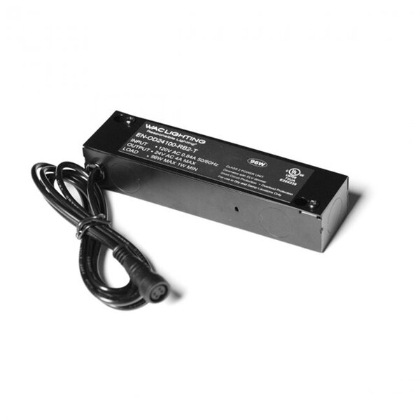Remote Enclosed 96W 120V Electronic Transformer by WAC Lighting