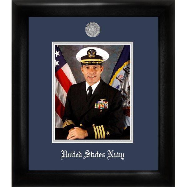 Navy Portrait Picture Frame by Patriot Frames