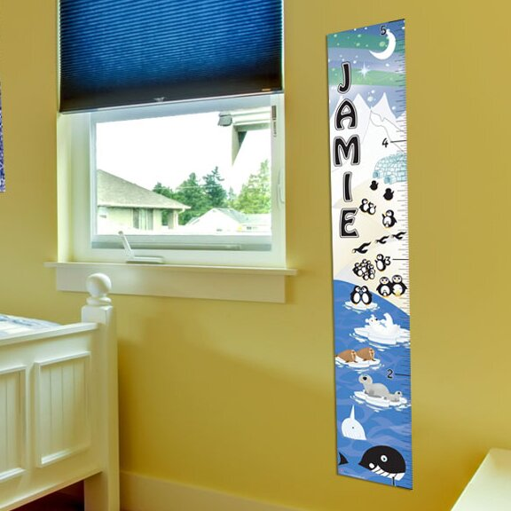 Penguin Growth Chart by Mona Melisa Designs