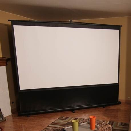 Reflexion Series Maxwhite 110 diagonal Portable Projection Screen by Elite Screens