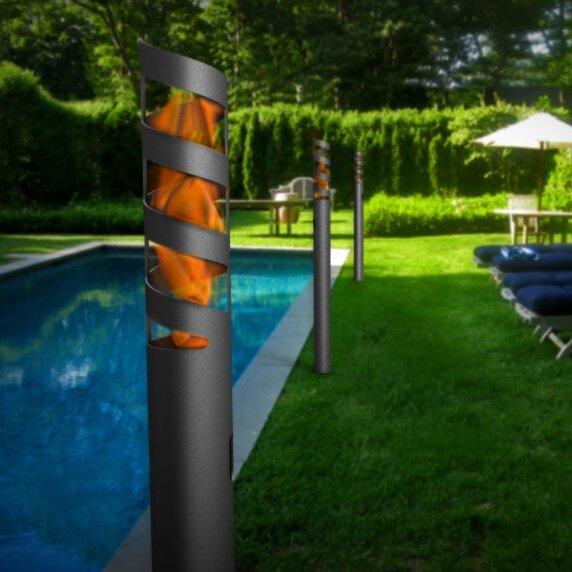 Volution Garden Torch by Decorpro