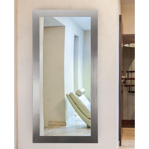 Sartain Modern Silver Wall Mirror by Latitude Run