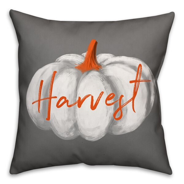 Icarus Harvest Pumpkin Throw Pillow by The Holiday Aisle