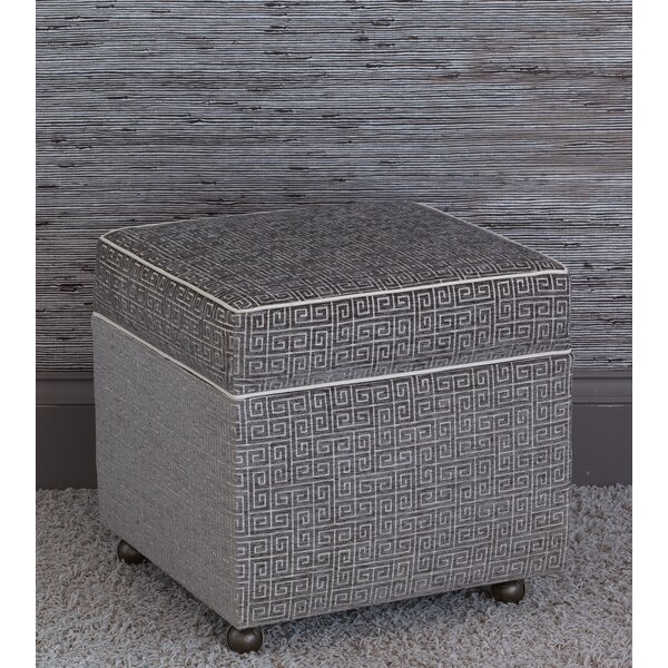 Amal Storage Ottoman by Eastern Accents