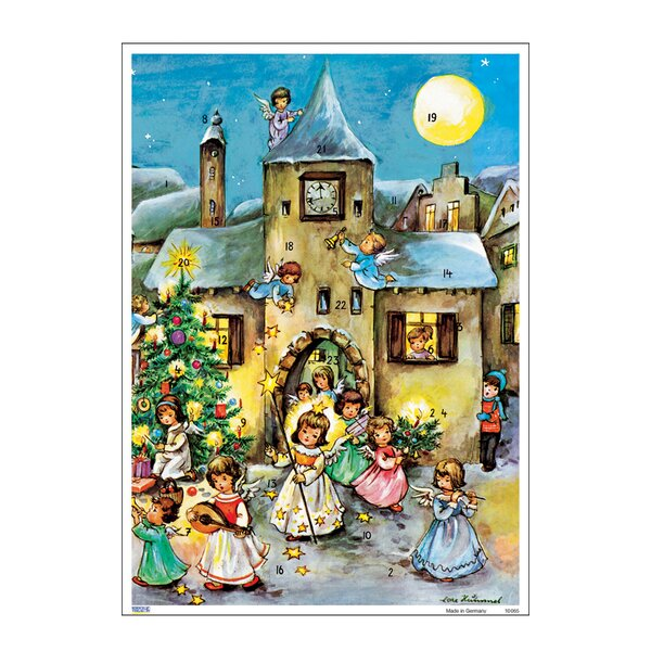 Korsch Angel Parade Advent Calendar by Alexander Taron