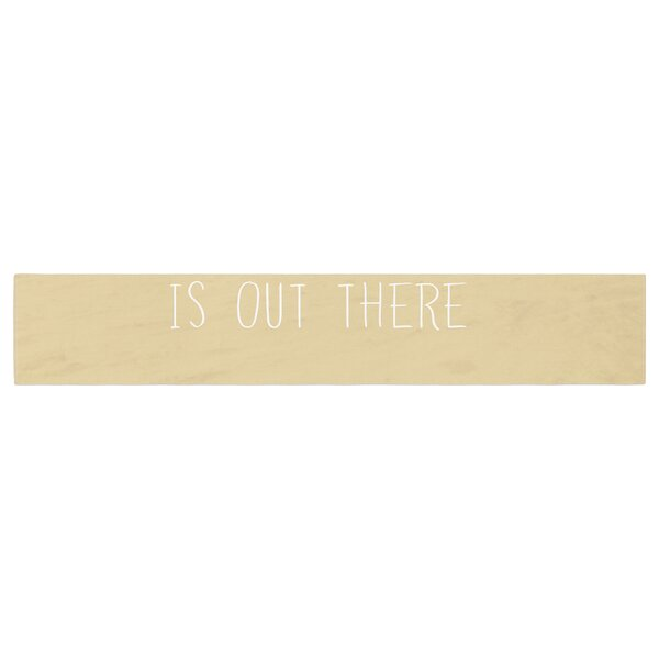Sylvia Cook Adventure is Out There Table Runner by East Urban Home