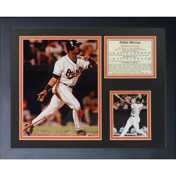 Eddie Murray - 500th HR Framed Memorabilia by Legends Never Die