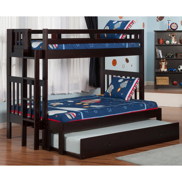 Full Bunk Bed With Trundle Part - 42: Viv + Rae Edd Twin Over Full Bunk Bed With Trundle U0026 Reviews   Wayfair