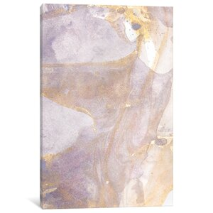 'Soft Shimmer I' Painting Print on Canvas by East Urban Home
