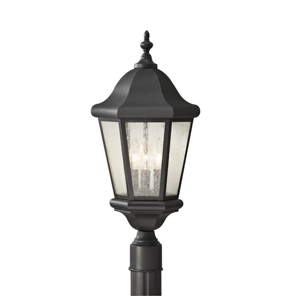 Martinsville Outdoor 3-Light Lantern Head by Feiss