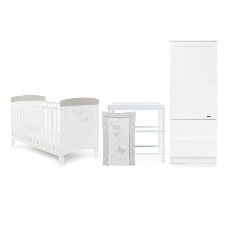 Pooh 3 Piece Nursery Furniture