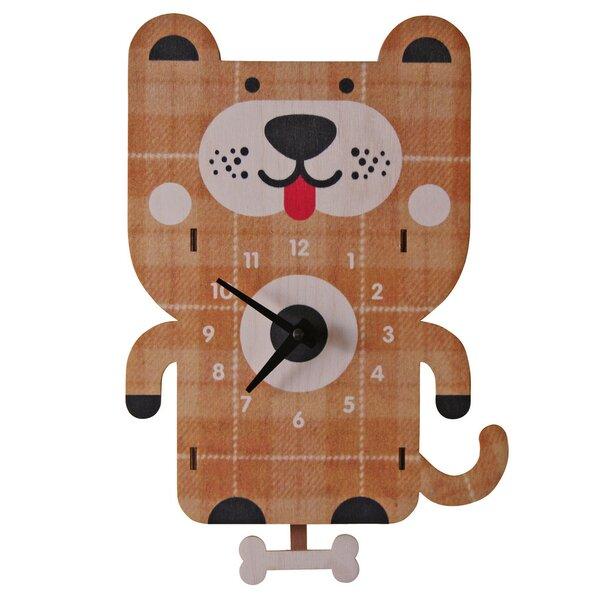 Dog Pendulum Wall Clock by Modern Moose