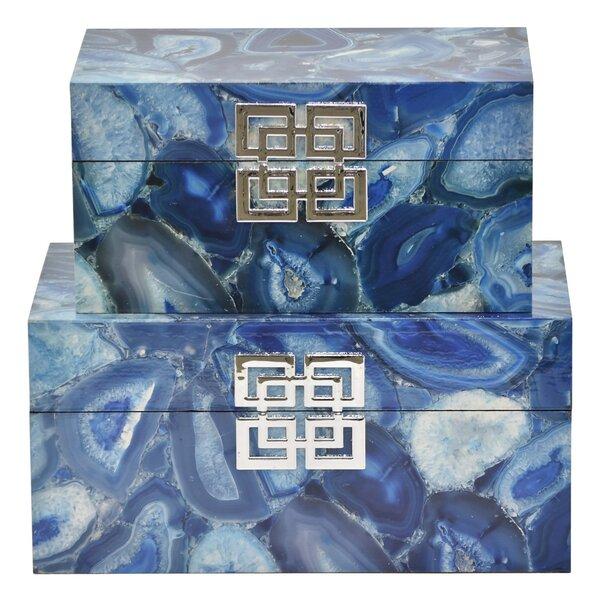 Rossmoor 2 Piece Decorative Box Set by Mercer41