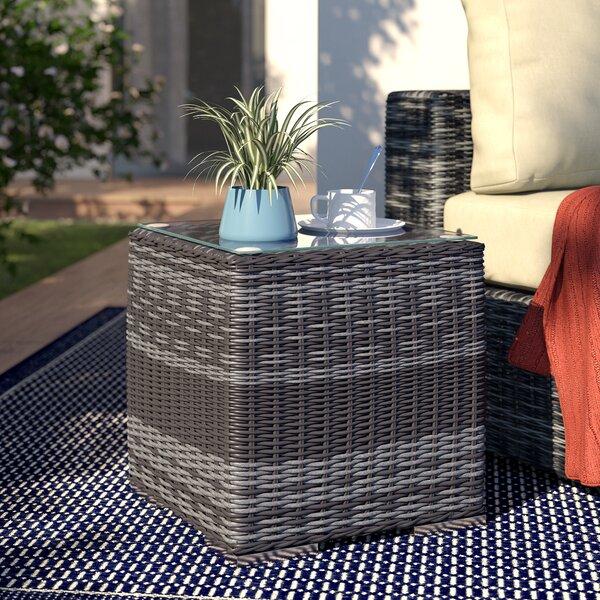 Alaia Glass  Coffee Table by Brayden Studio Brayden Studio