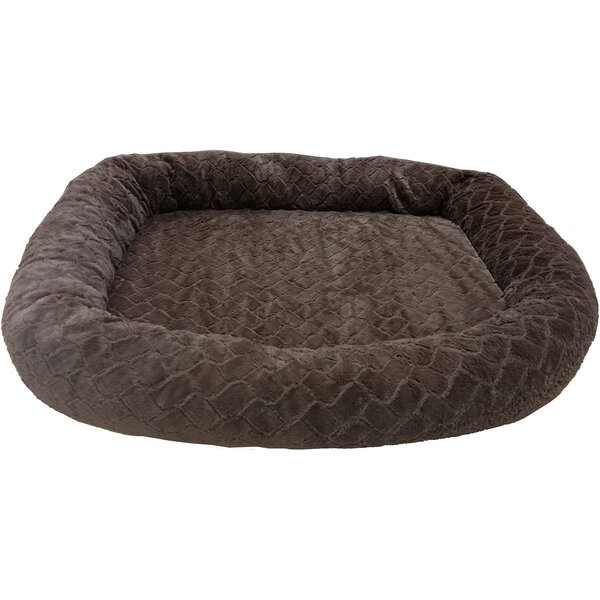 Sleep Zone Diamond Cut Orthopedic Bolster Dog Bed by Ethical Pet