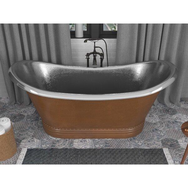 Bali 67 x 30 Freestanding Soaking Bathtub by ANZZI