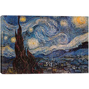 'The Starry Night' by Vincent van Gogh Graphic Art Print by East Urban Home