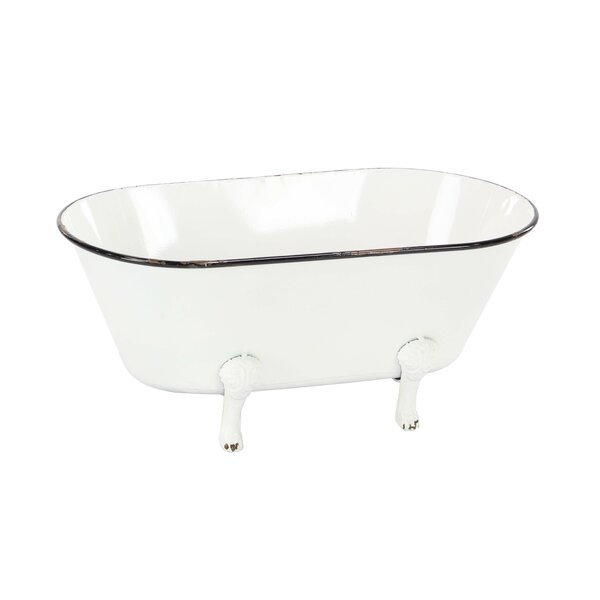 Contemporaryamel Tub Flower Barrel Planter by Cole & Grey