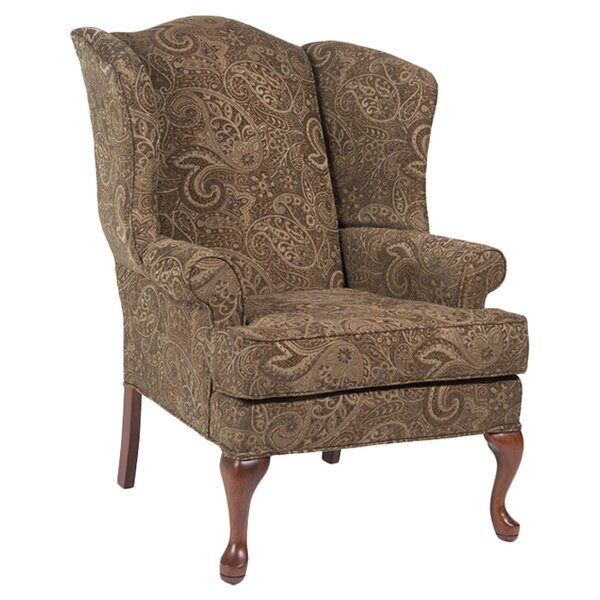 Chacko Wingback Chair by Charlton Home