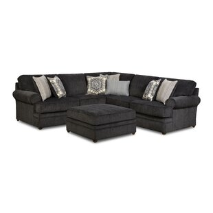 Dorothy Sectional with Ottoman by DarHome Co
