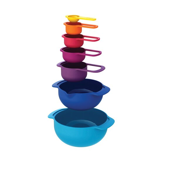 Nest 7 Piece Plus Mixing Bowl by Joseph Joseph