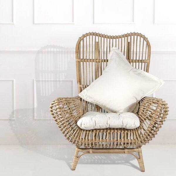 Round Back Rattan Patio Chair by Ibolili Ibolili