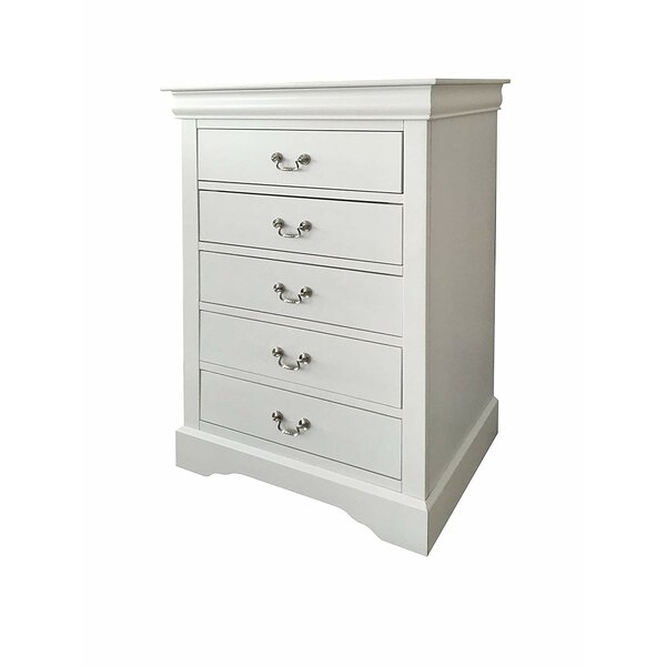 Nebel 5 Drawer Chest by Canora Grey