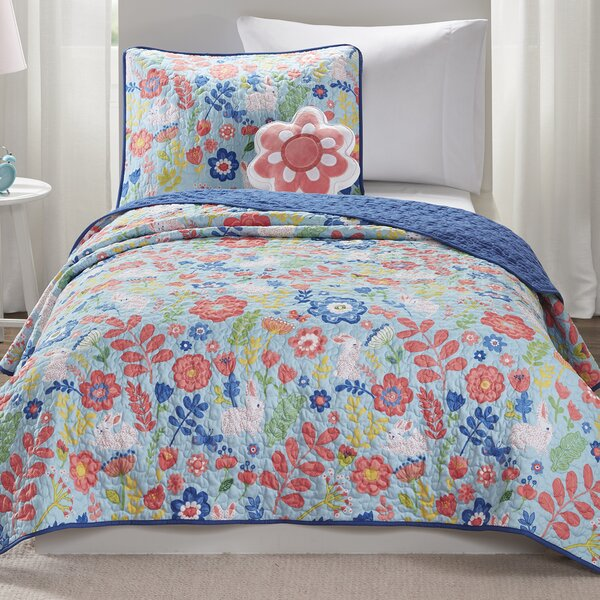 Crumley Reversible Coverlet Set by Harriet Bee